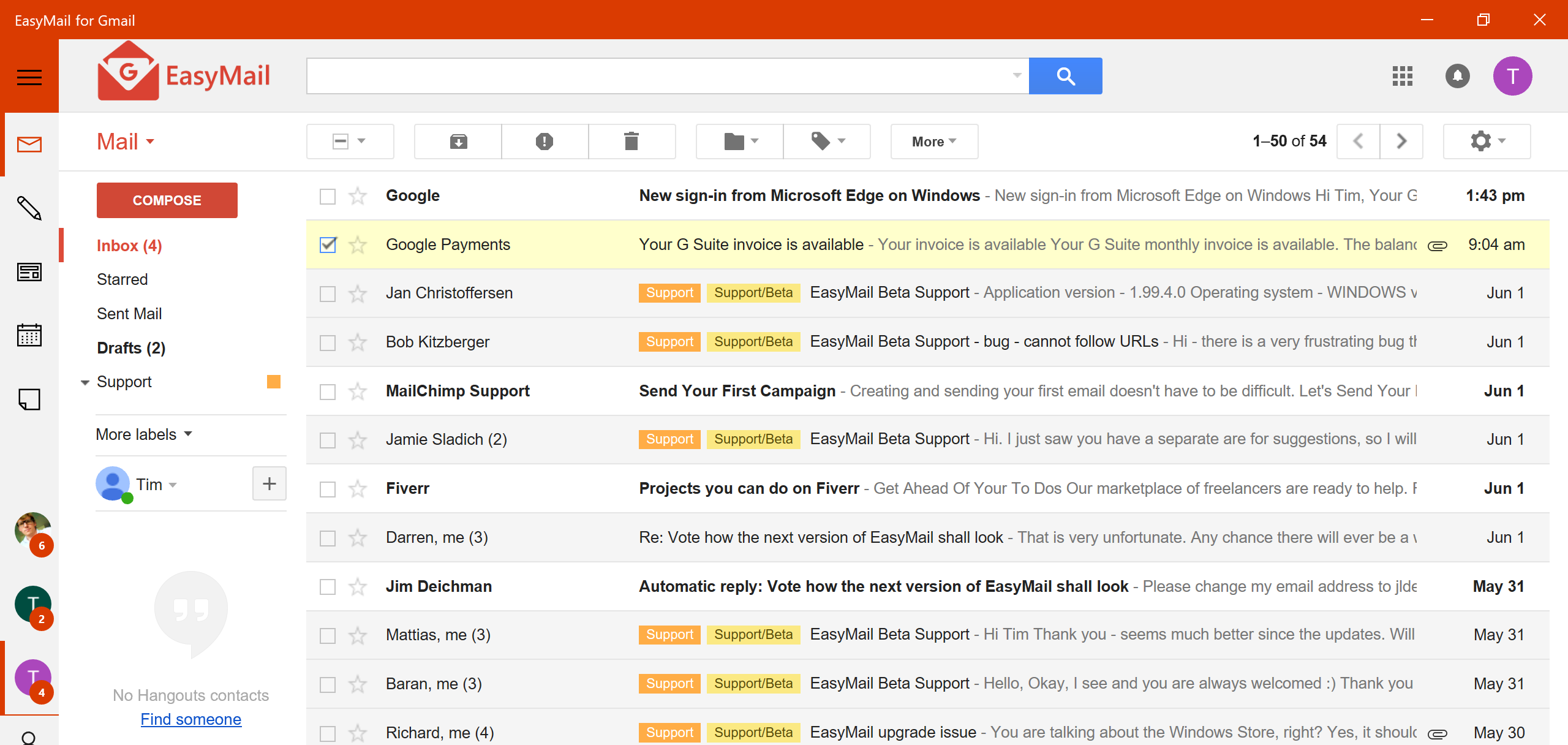 Gmail: Gmail Made Easy: EasyMail For Gmail