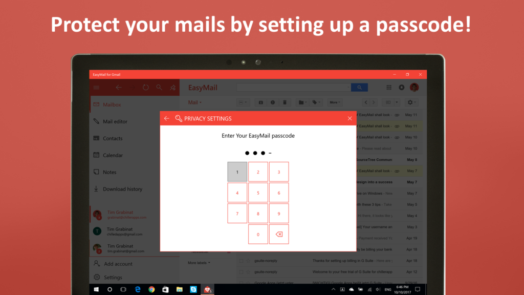 EasyMail for Gmail - Your desktop client for Windows 10