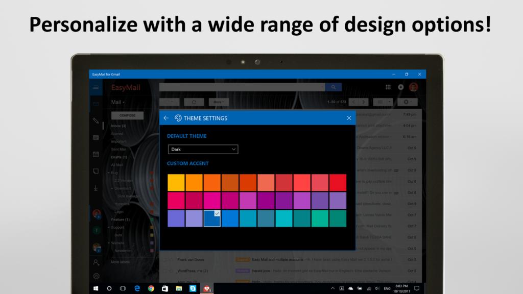 EasyMail for Gmail - Your desktop client for Windows 10