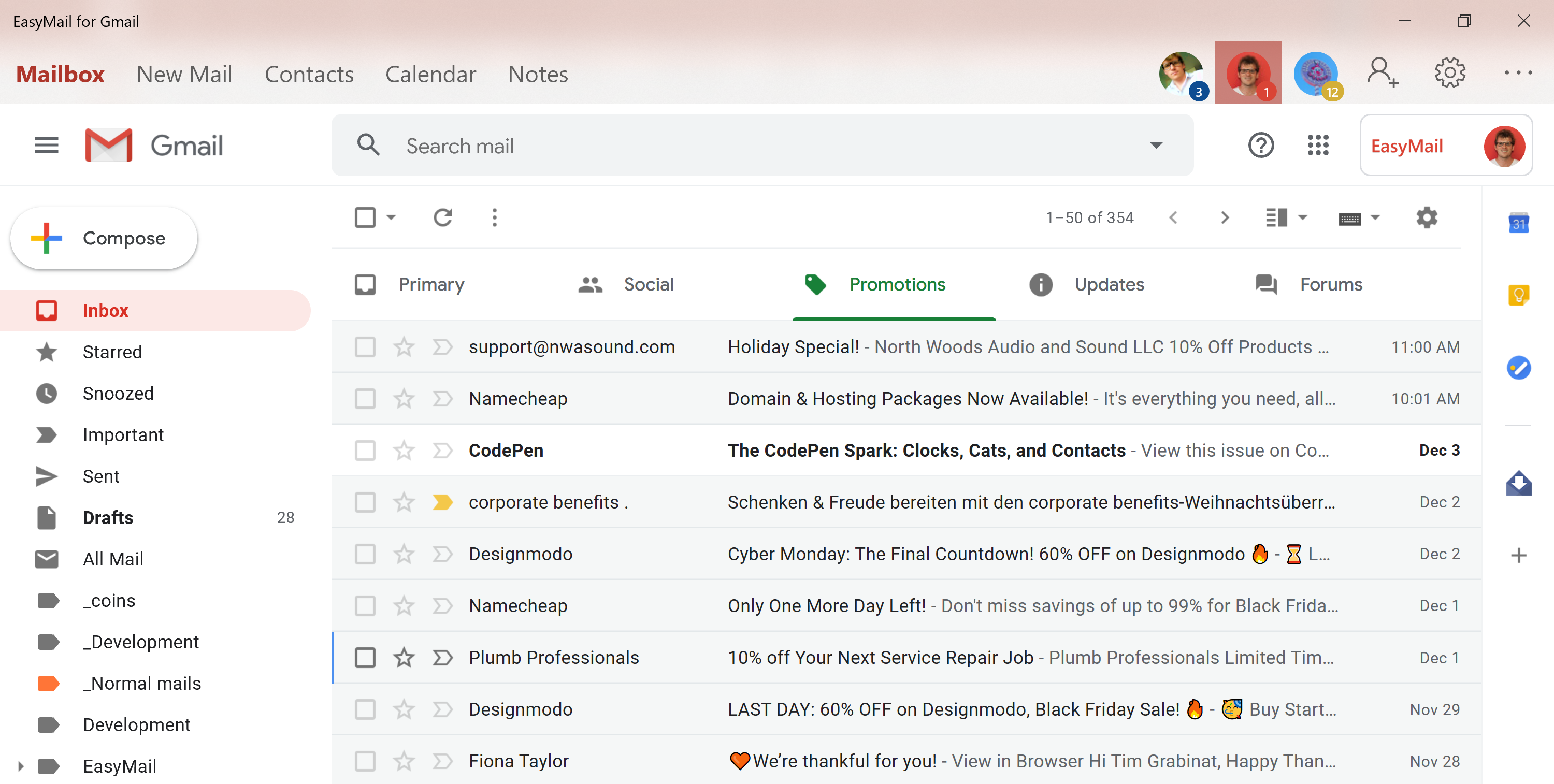 EasyMail for Gmail 3.1.6.0 full